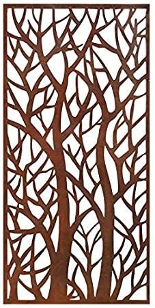 Amazon.com : Stratco Decorative Privacy Screen Panel, Forest .