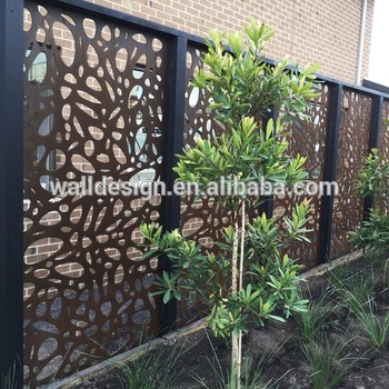 Metal Outdoor Privacy Scree