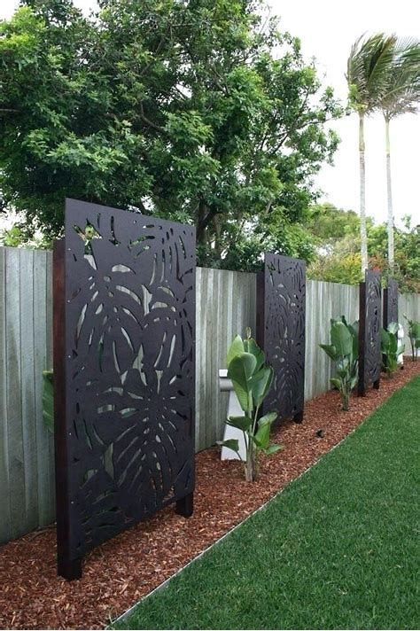 Image result for outdoor decorative screen panels | Privacy fence .