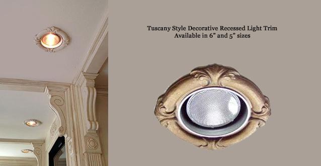 Decorative Recessed Light Trims | Beaux-Arts Classic Produc