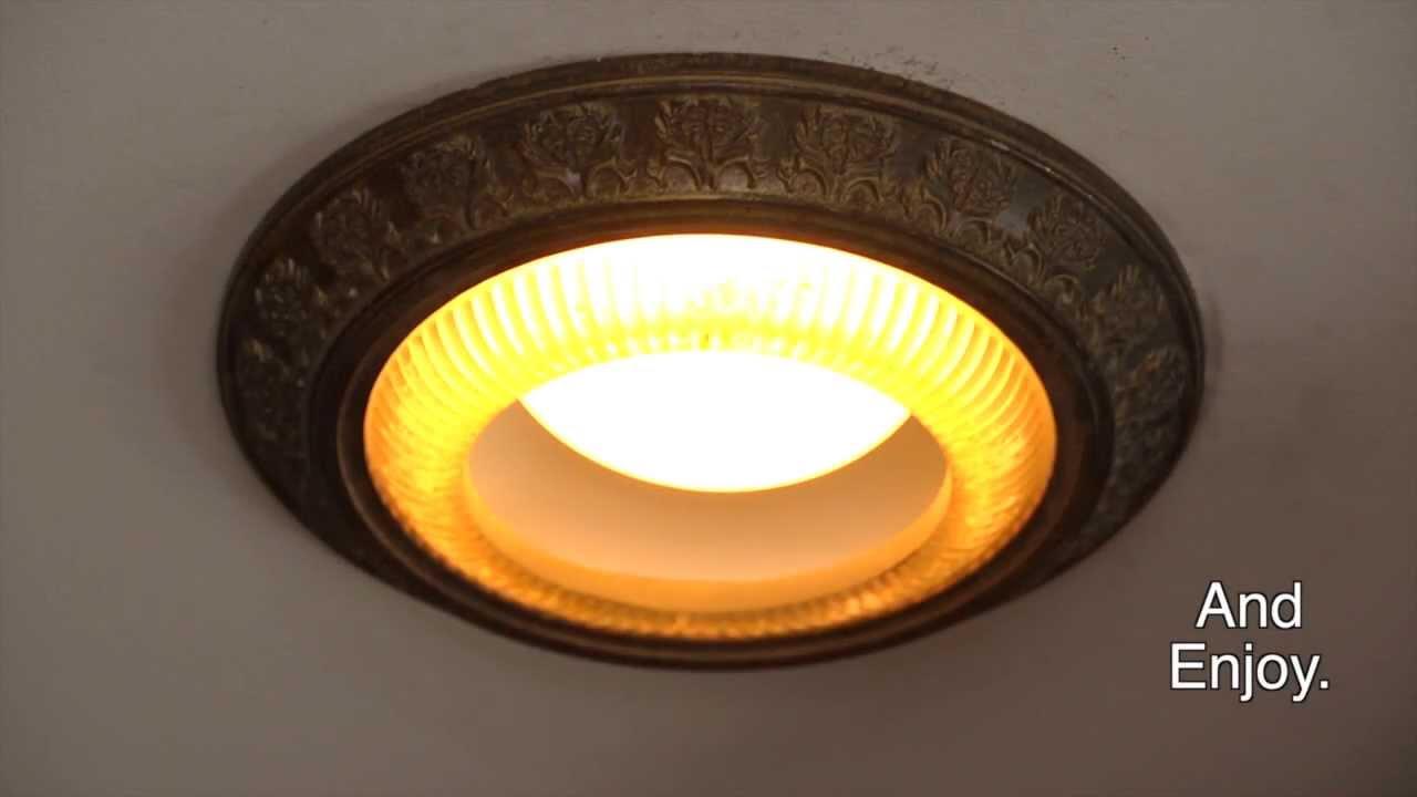 Decorative Recessed Light Covers