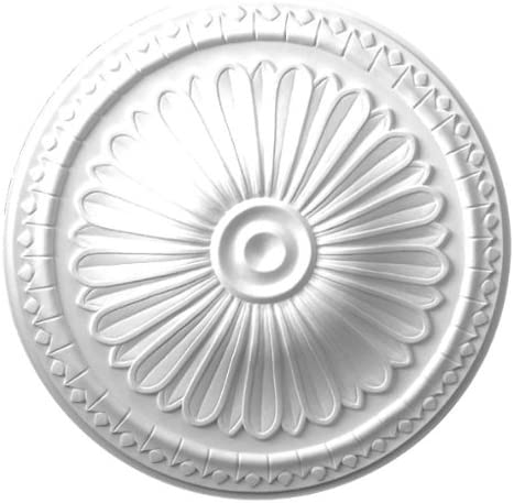 """15"""" Round Decorative Architectural Ceiling Wall Medallion - IWW ."""