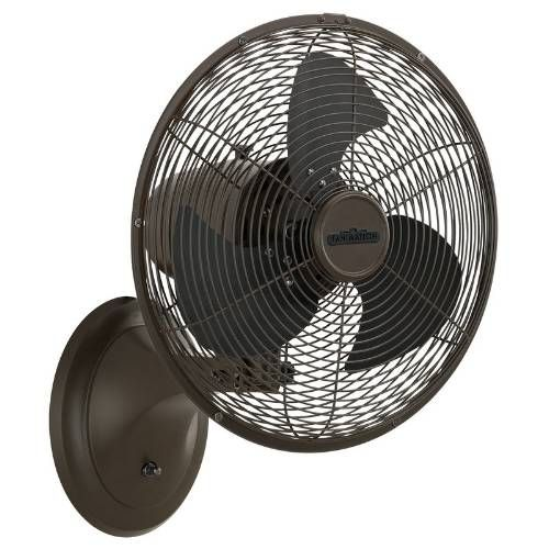 wall mounted oscillating fan for small spaces | Wall mounted fan .