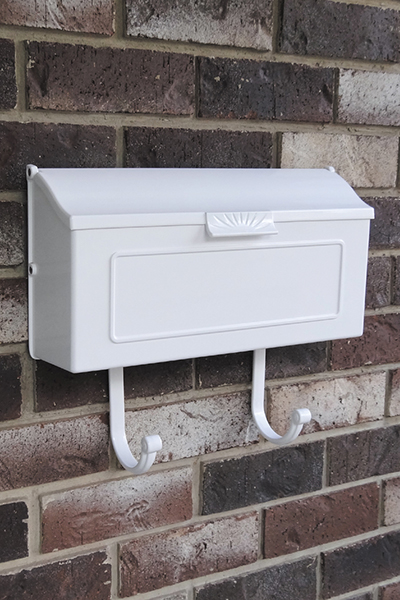 Decorative Horizontal & Vertical Wall Mount Mailbox