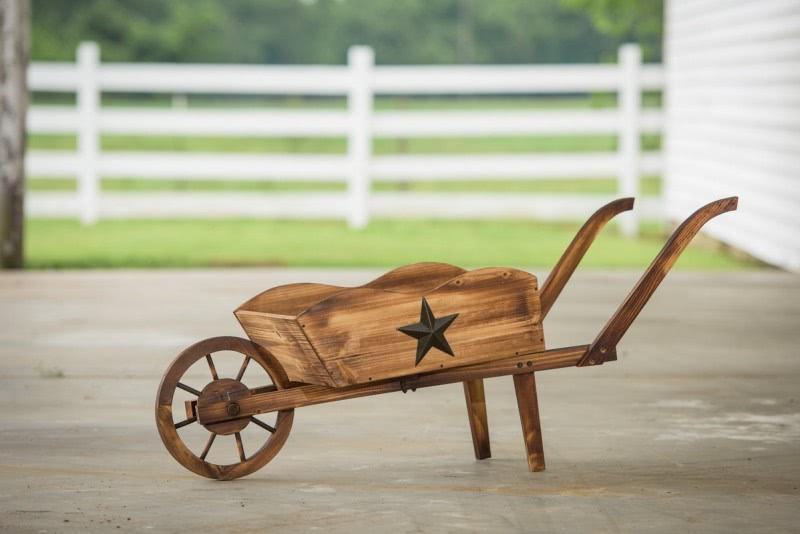 50+ Decorative Wheelbarrow Planter You'll Love in 2020 - Visual Hu