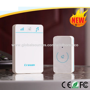China 52 Chimes Honeywell Remote Wireless Doorbell Waterproof IP54 .