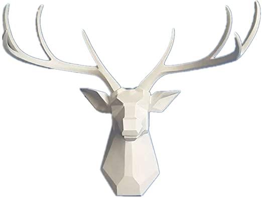 Amazon.com: Deer Head Wall Decor - Faux Taxidermy Animal Head Wall .