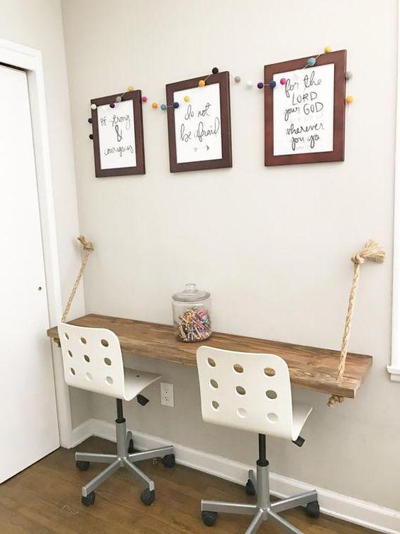 Beautiful and Creative Desk Ideas Any Kid Will Lo