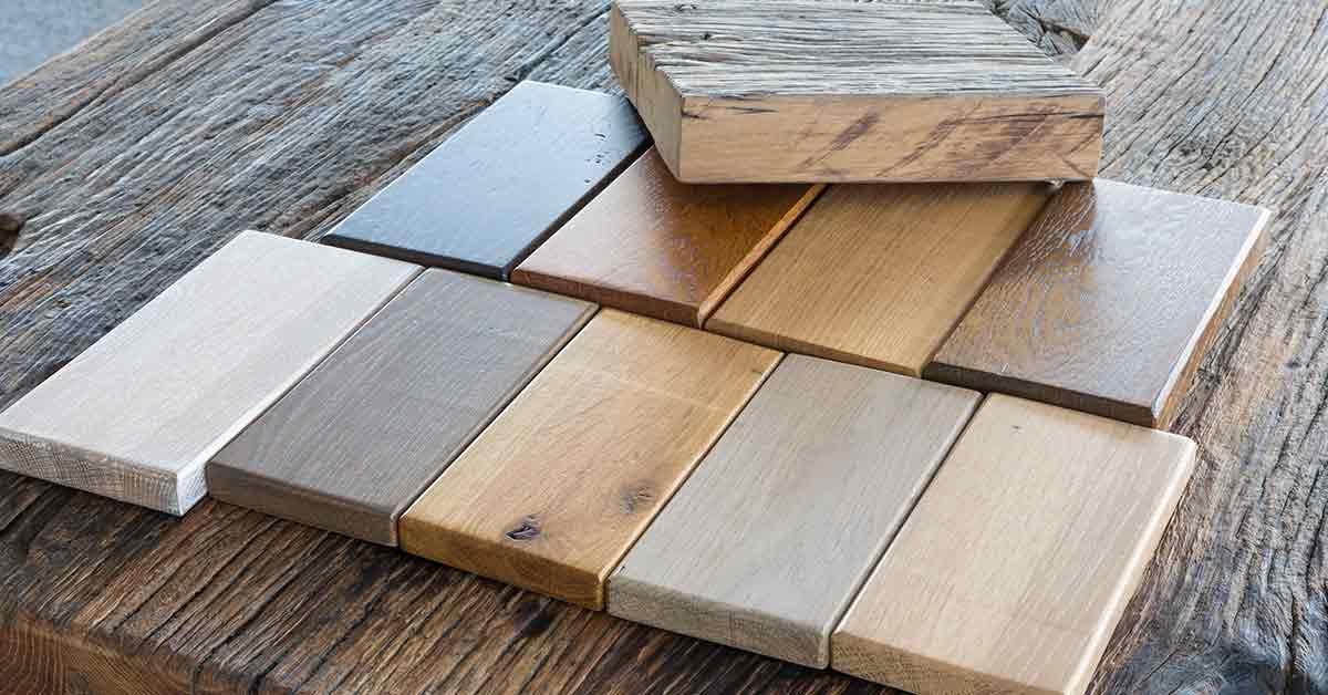 Different types of finishing for hardwood floors