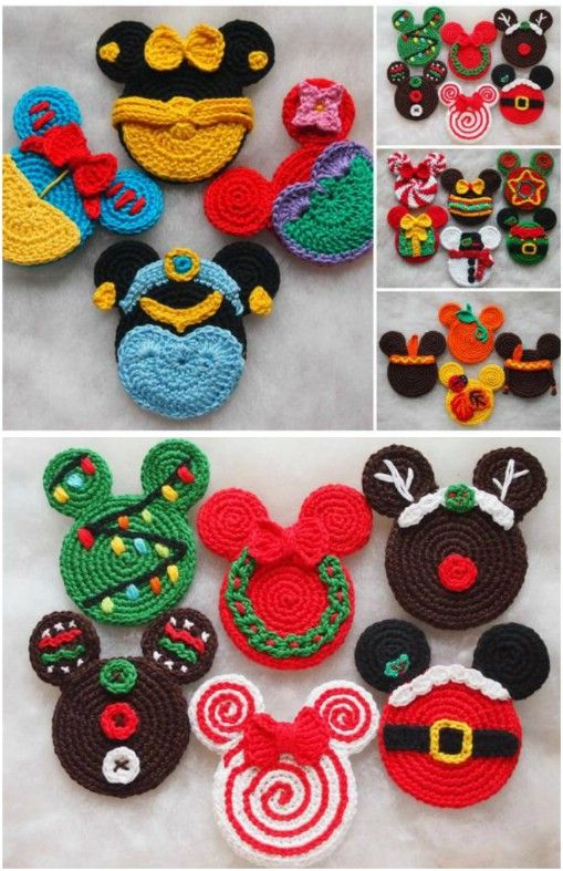 20 Creative DIY Disney Christmas Ornaments Anyone Can Do | Disney .