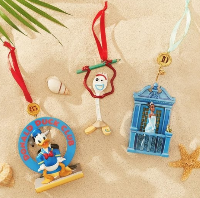 Shop Disney's Christmas In July Ornaments N