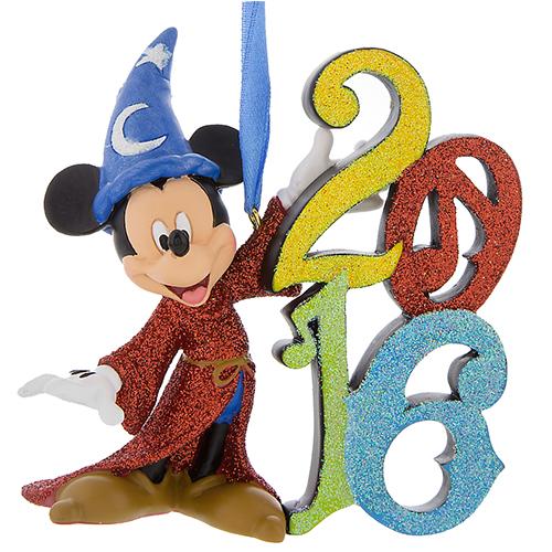 Disney Christmas Ornament - 2016 Mickey Mouse Figu