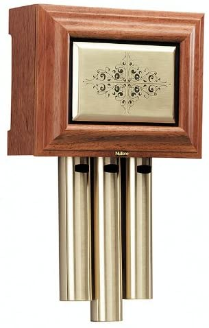 NuTone LA305WL Traditional Wired Musical Door Chime, Walnut .