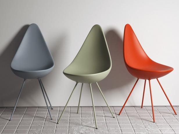 Drop Chair 3d model | Fritz Hansen, Denma