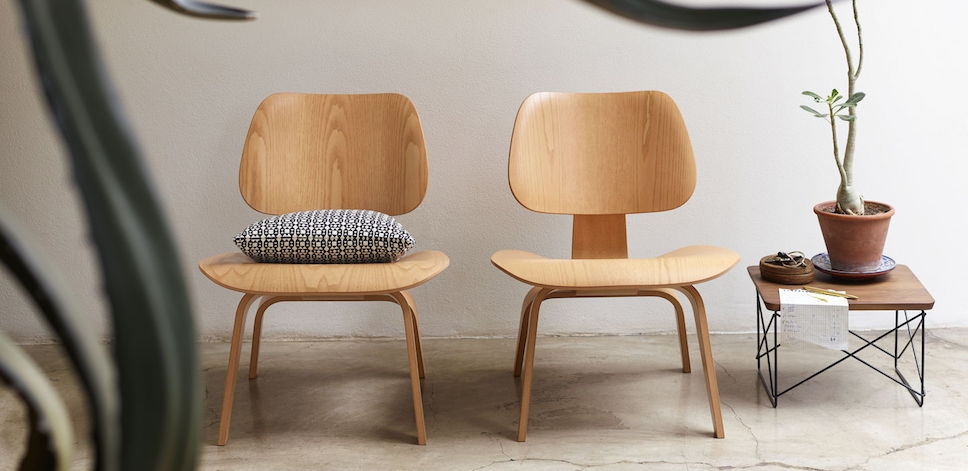 Vitra - LCW Eames lounge chair (Plywood Group) – design Charles .