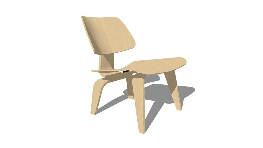 Herman Miller Eames Lounge Chair Wooden Legs | 3D Warehou