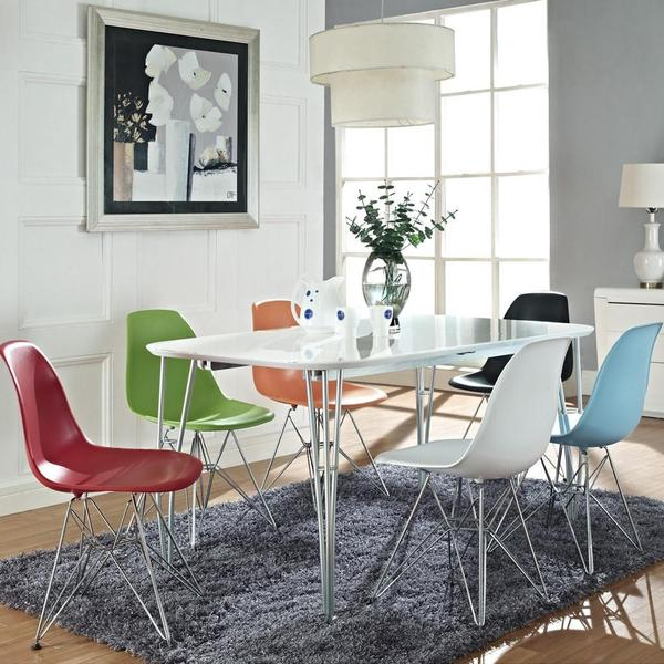 Eames® Molded Plastic Side Chair - Wire Base | Lekker Ho