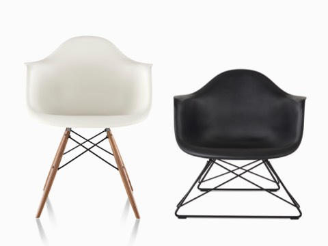 Eames Molded Plastic - Side Chair - Herman Mill