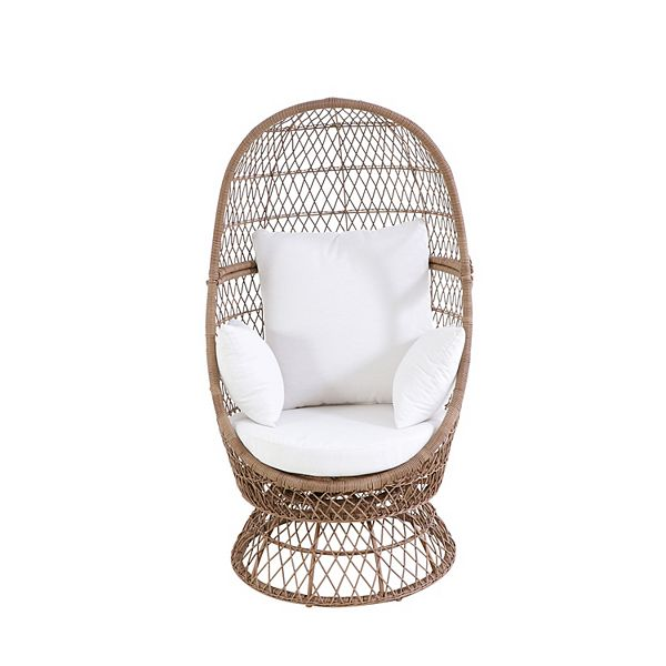 Sonoma Goods For Life® Blonde Wicker Swivel Egg Cha