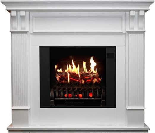 Amazon.com: MagikFlame Electric Fireplace with Mantel - Trinity .