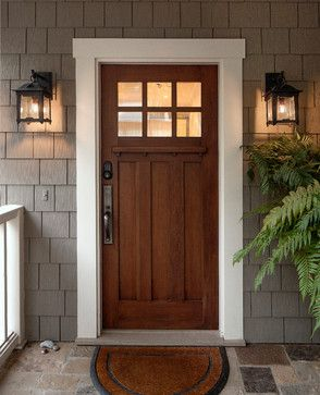 Front Door Design Ideas, Pictures, Remodel and Decor | Craftsman .