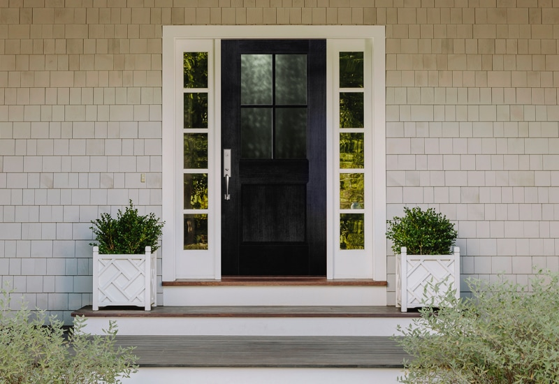 Black Front Door Ideas to Up Your Curb Appeal | Pella Windows & Doo
