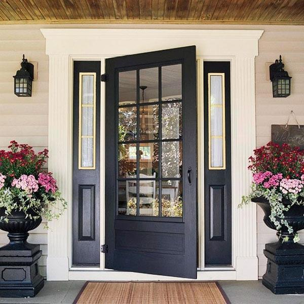 30 Front Door Ideas, Paint Colors for Exterior Wood Door .