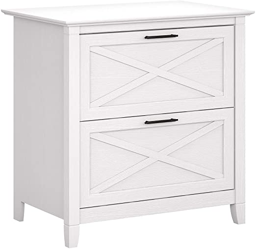 Amazon.com: Bush Furniture Key West 2 Drawer Lateral File Cabinet .