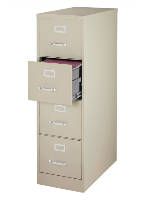 WorkPro File 4 Drawer Letter Size Putty - Office Dep