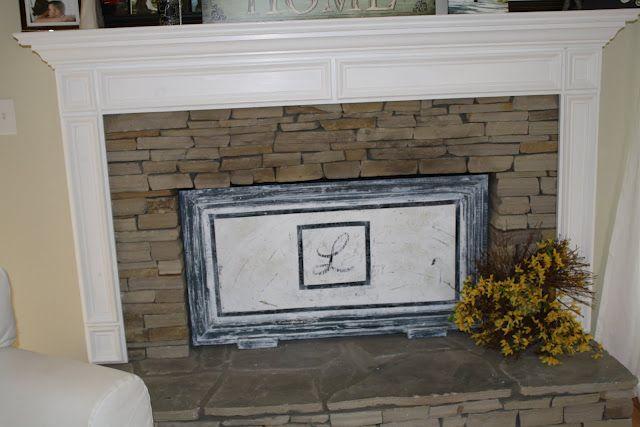 DIY Fireplace Screen | Diy fireplace, Fireplace screens, Fireplace .