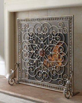 Fireplace Screen Decorative - Ideas on Fot