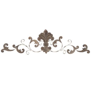 Carved Fleur-De-Lis Metal Wall Decor | Hobby Lobby | 18059