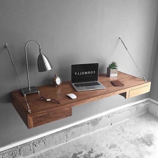 Furniture Best 25 Floating Desk Ideas On Pinterest | Rustic Kids .