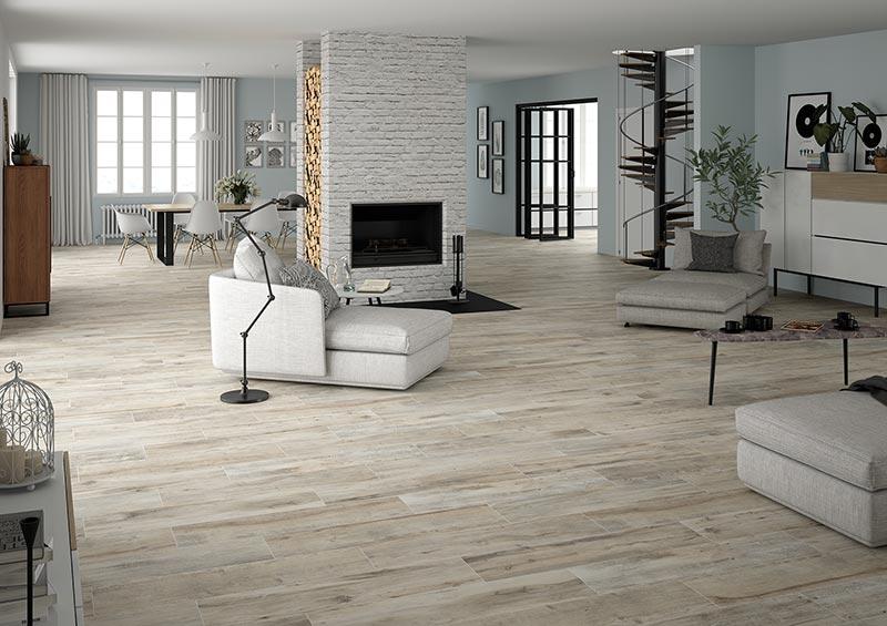 "SHIREEN - Grey 10""x40"" Porcelain Floor & Wall Tile | QDI Surfaces"