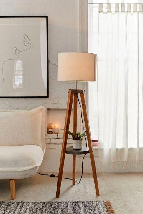 44 Trendy Floor Lamp For Your Living Room Design Ideas - TRENDUHO