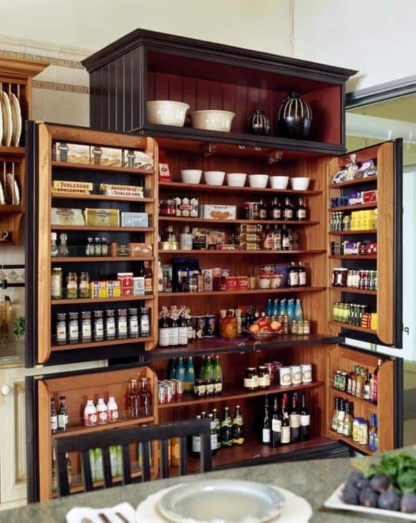 53 Mind-blowing kitchen pantry design ide