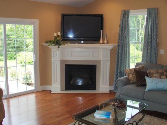 Pin by Shannon Engel on Home ideas | Corner gas fireplace, Corner .