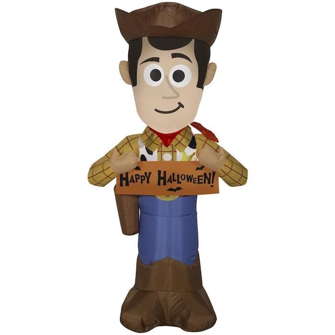 Gemmy Disney/Pixar 3.5-ft x 1.3-ft Lighted Woody Halloween .