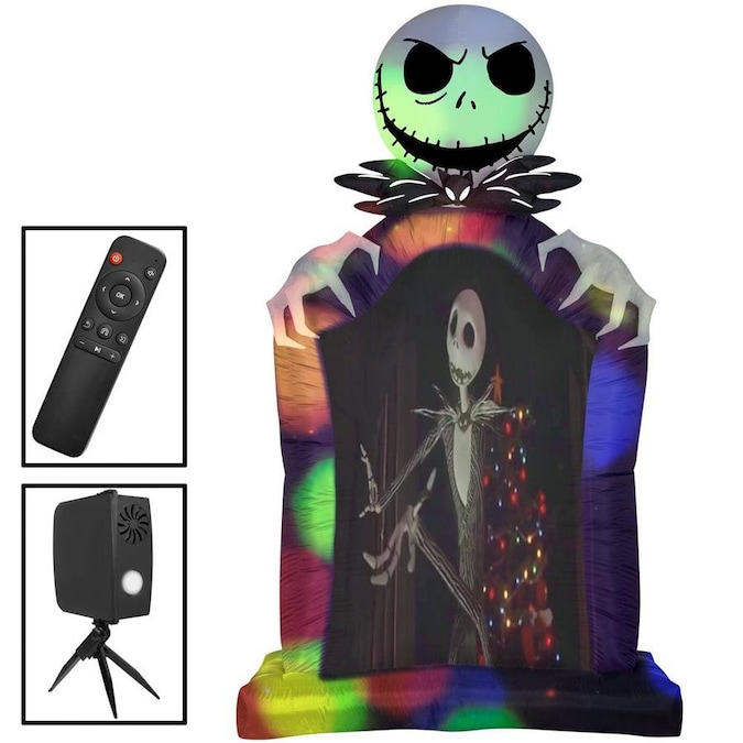 Gemmy The Nightmare Before Christmas 9.5-ft x 5.4-ft Jack .