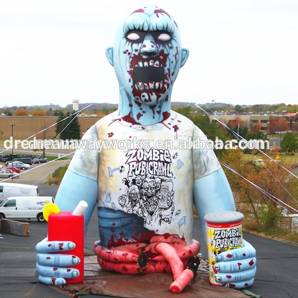 2020 Hot Sale Halloween Inflatable,Inflatable Zombie For Halloween .
