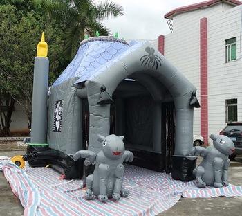 Halloween Inflatable Haunted Bounce House For Sale - Buy Halloween .