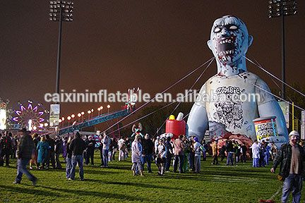 Hot Sale Giant Halloween Inflatable,Inflatable Zombie For .