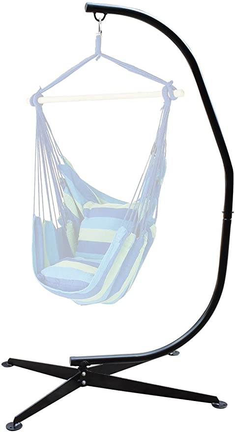 Amazon.com: Sorbus Hammock Chair Stand for Hanging Chairs, Swings .