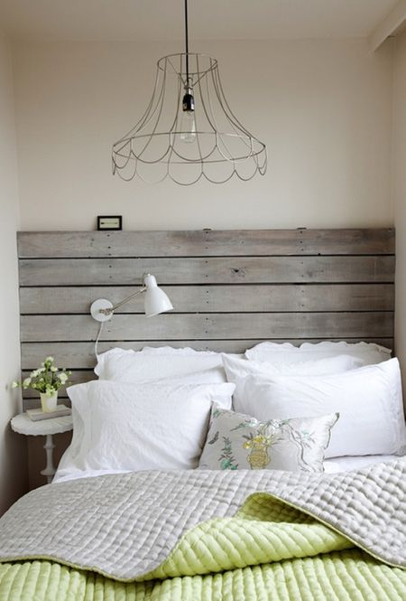 16 Creative and Stylish Wooden Headboard Ide