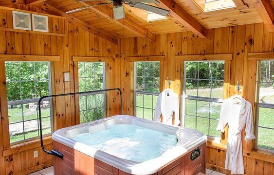 Relaxing Indoor Hot Tub Ideas for Extra Comfort | DecorTren