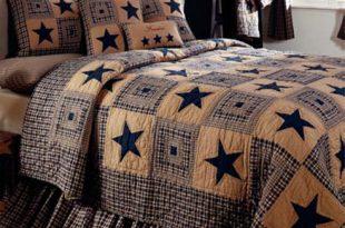 Vintage Star Navy by IHF Home Decor - BeddingSuperStore.c