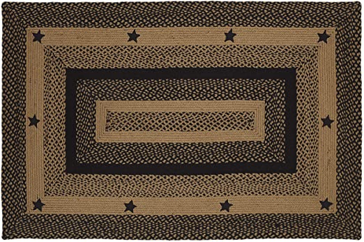 Amazon.com: IHF Home Decor Braided Area Rug Rectangle 20 Inch x 30 .
