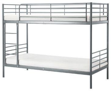 SVARTA Bunk bed frame | IKEA - Beds - by IKEA | Metal bunk beds .