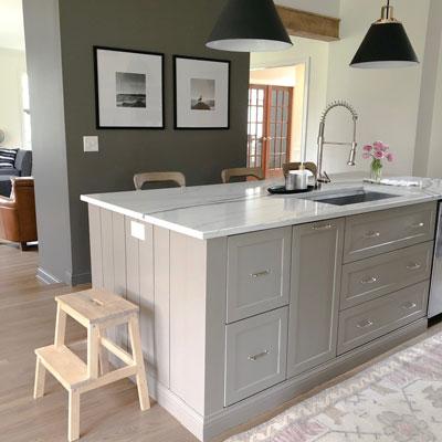 How to Create a Custom Ikea Kitchen Island - House with Ho