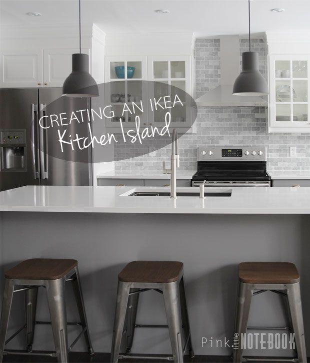 Creating an IKEA Kitchen Island - Pink Little Notebook | Ikea .
